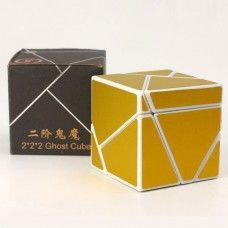 LIM CUBE GHOST 2X2 Black, GOLD, GREEN