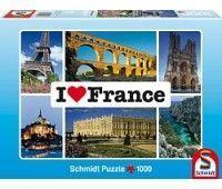 """Пазл Schmidt """"Я люблю Францию"""", 1000 эл."""