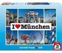 """Пазл Schmidt """"Я люблю Мюнхен"""", 1000 эл."""