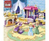 Конструктор Brick Спальня принцессы 265 шт
