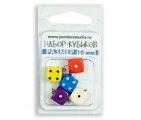 Набор Для игр: 5 кубиков 10мм