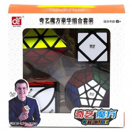 Набор кубиков Рубика QiYi MoFangGe Gift Box Black