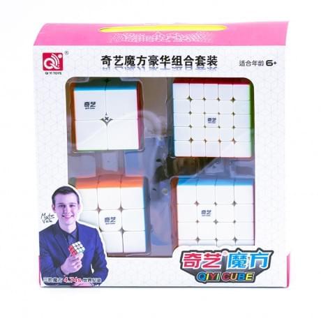 Набор головоломок 2x2x2-3x3x3-4x4x4-5x5x5