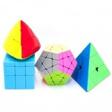 SHENGSHOU SHAPED CUBE SET BLACK - COLOR
