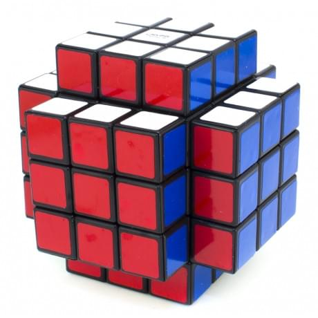 Calvin's Puzzle Cross Cube Black