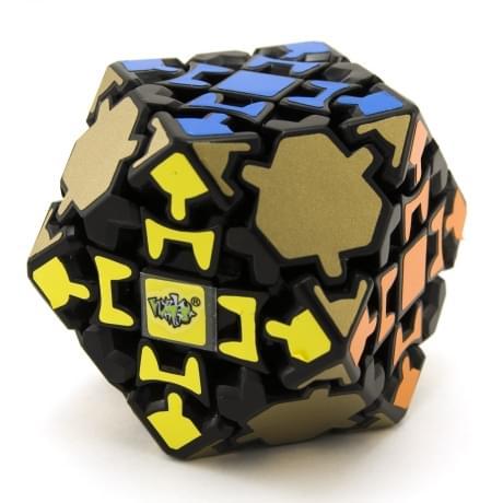 LanLan Black Gear Tetradecahedron
