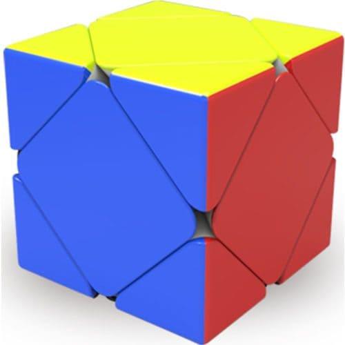 Кубик Рубика Скьюб цветной