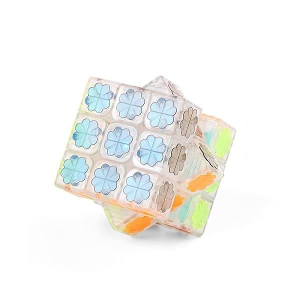 Прозрачный кубик Рубика 3х3 moyu