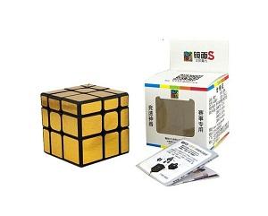 Зеркальный кубик Рубика MoYu золотистого цвета